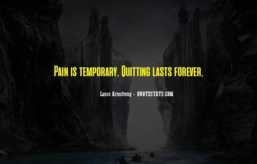 Quotes About Cancer Pain #616985
