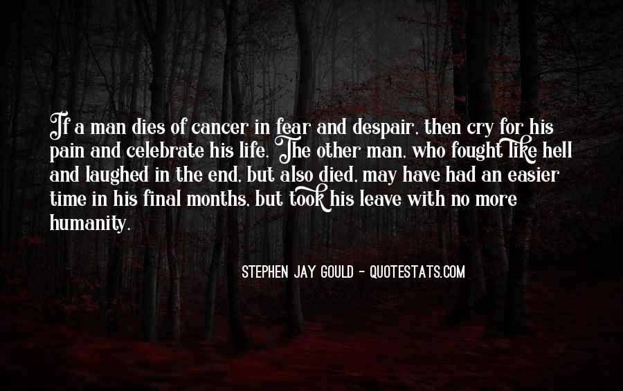 Quotes About Cancer Pain #811196