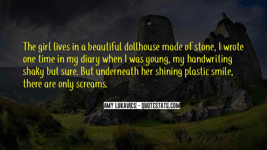 Quotes About Plastic Smile #134544