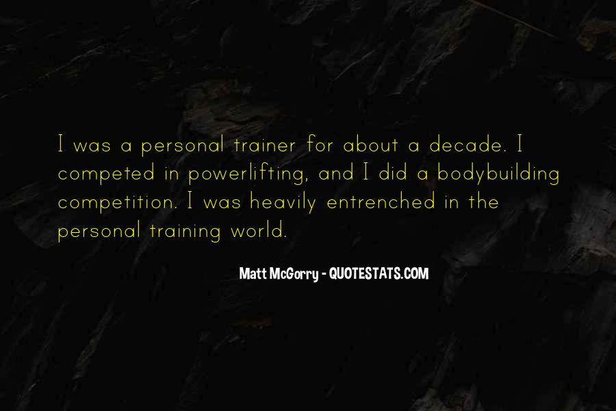 Quotes About A Trainer #188307