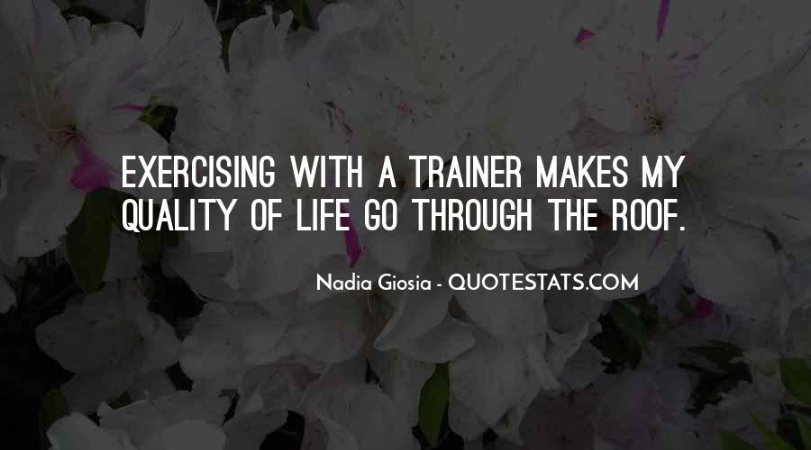 Quotes About A Trainer #264658
