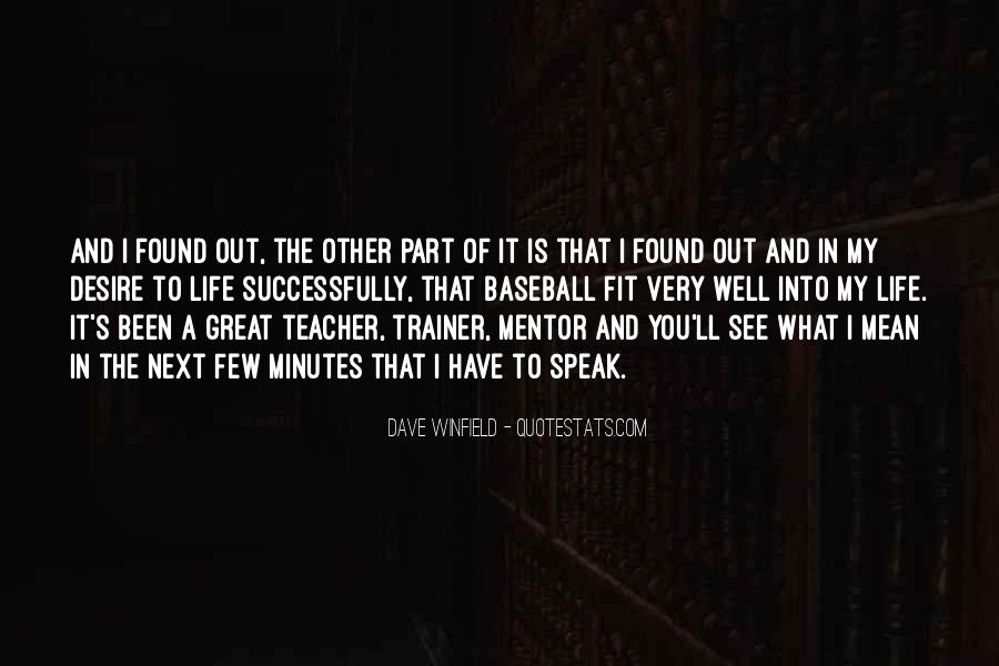 Quotes About A Trainer #331156