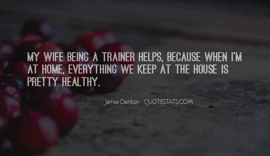 Quotes About A Trainer #356196