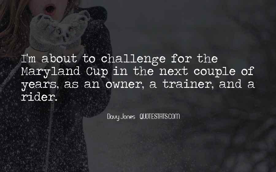 Quotes About A Trainer #431260