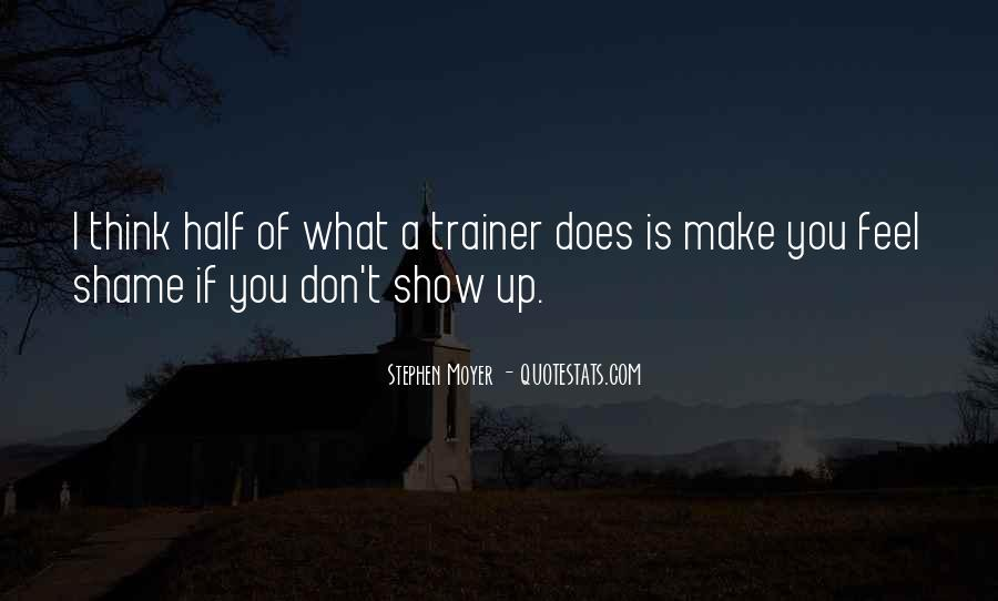 Quotes About A Trainer #525470