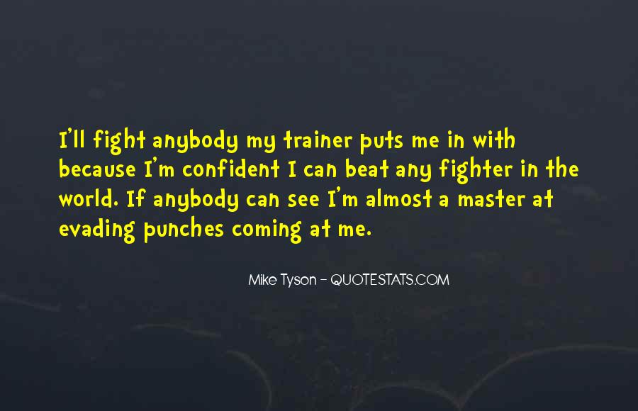 Quotes About A Trainer #63425