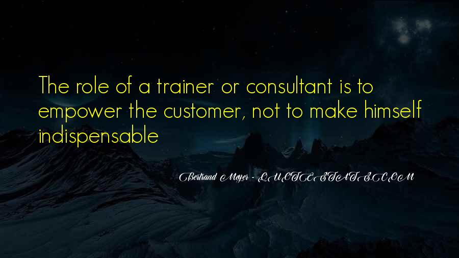 Quotes About A Trainer #739787