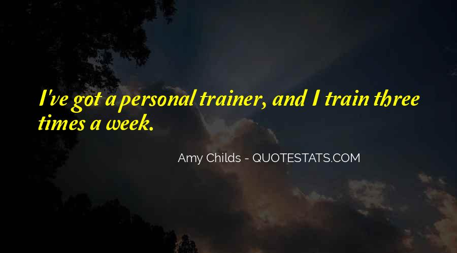 Quotes About A Trainer #805233