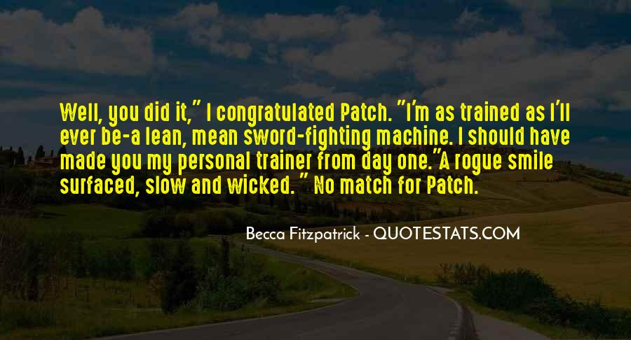 Quotes About A Trainer #936477