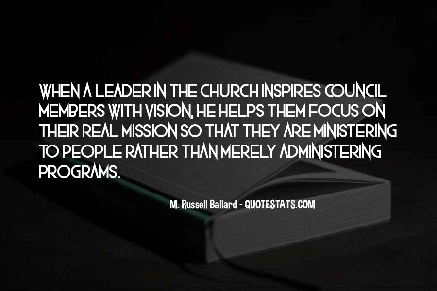 Quotes About Mission #11344