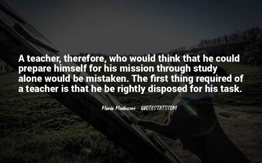 Quotes About Mission #12580