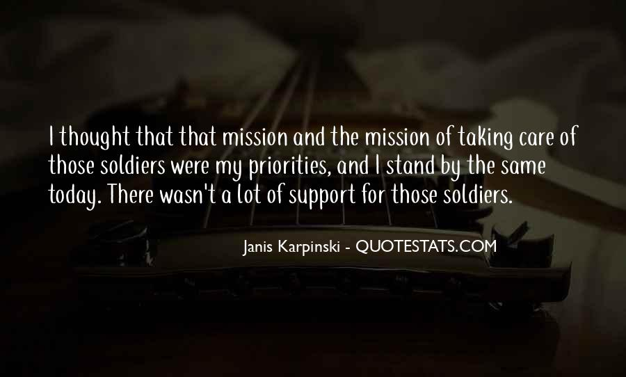 Quotes About Mission #2568