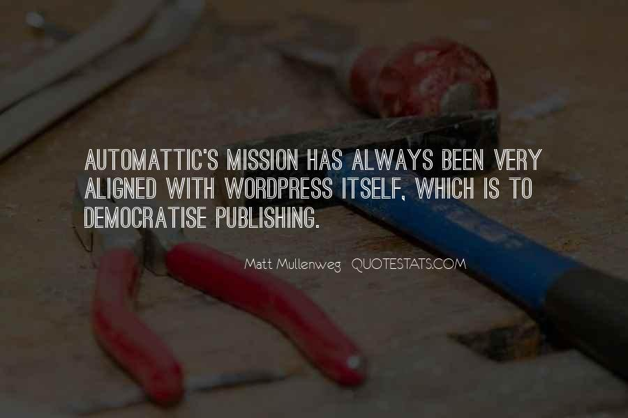 Quotes About Mission #30560