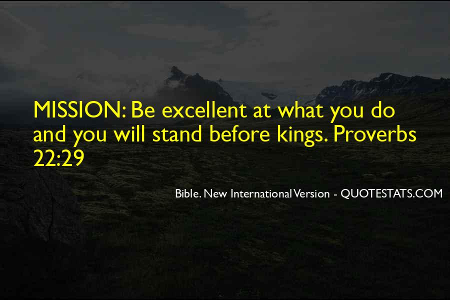 Quotes About Mission #47955