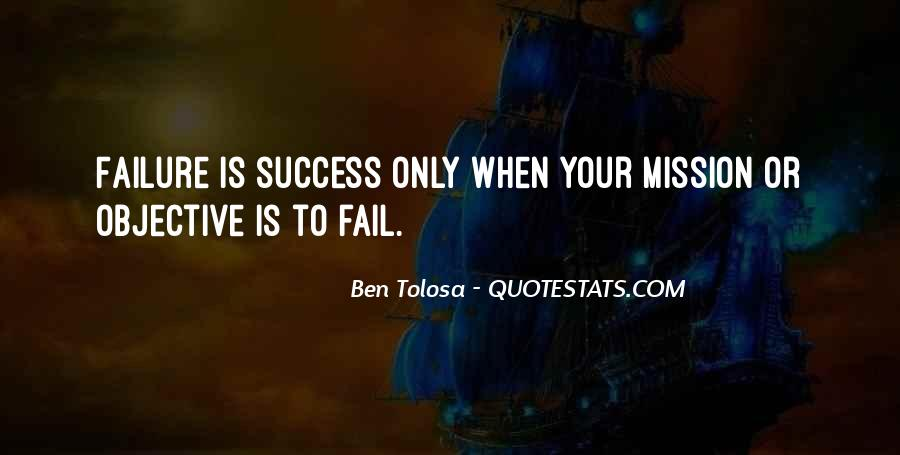 Quotes About Mission #53956