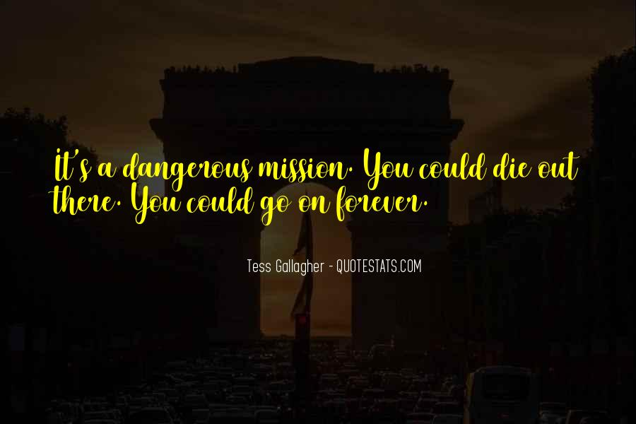 Quotes About Mission #54453