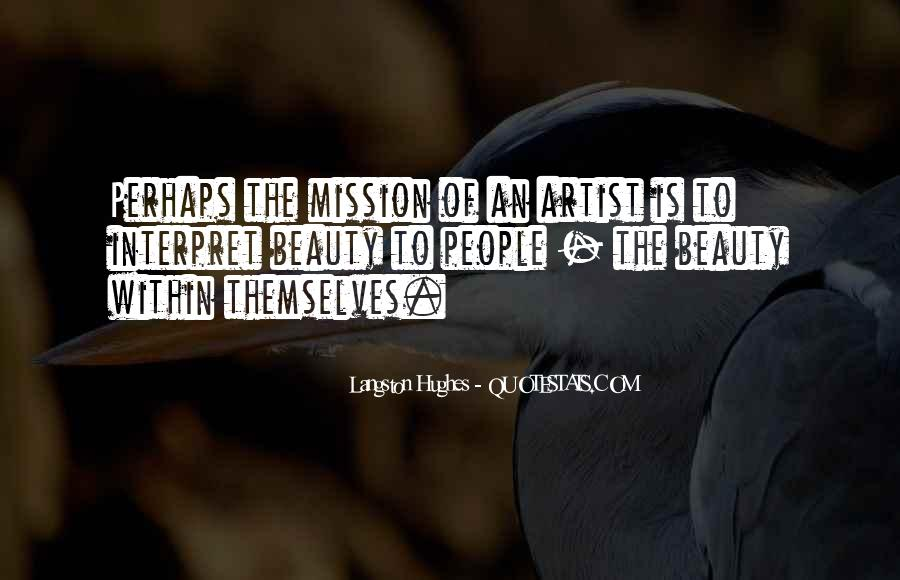 Quotes About Mission #60494