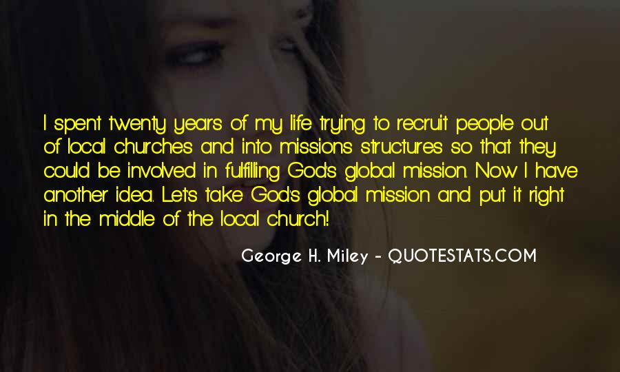 Quotes About Mission #8641