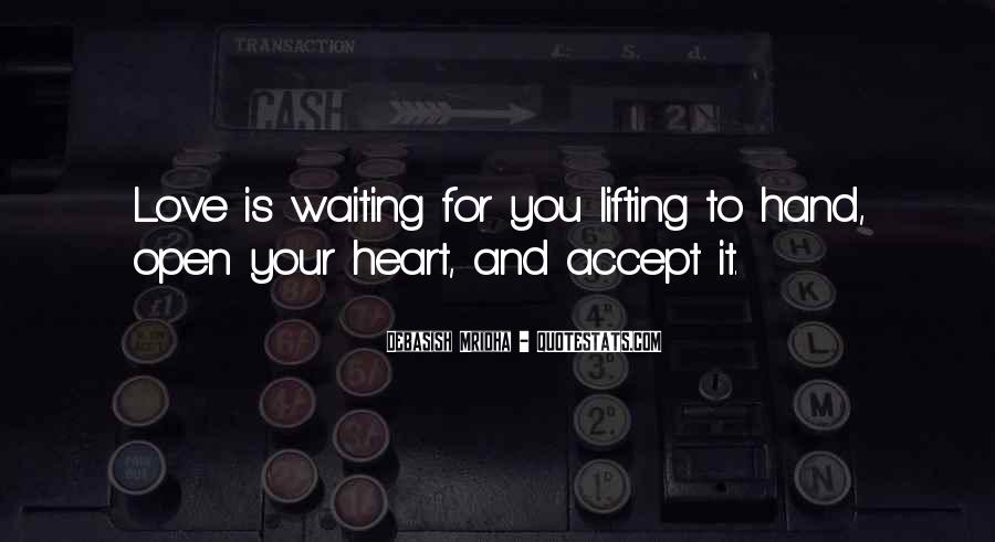 Quotes About Waiting For Someone Who You Love #60893
