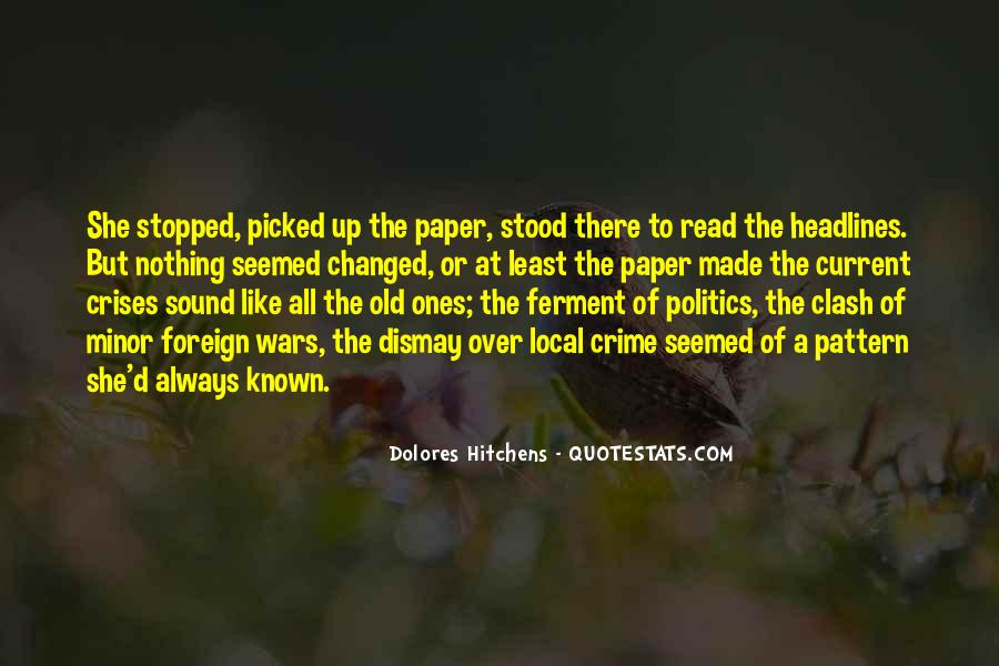 Quotes About Local Politics #1515835
