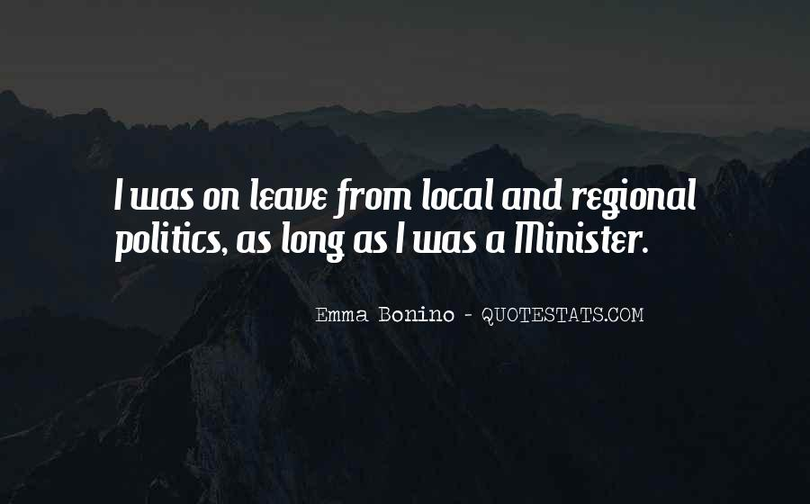 Quotes About Local Politics #637310