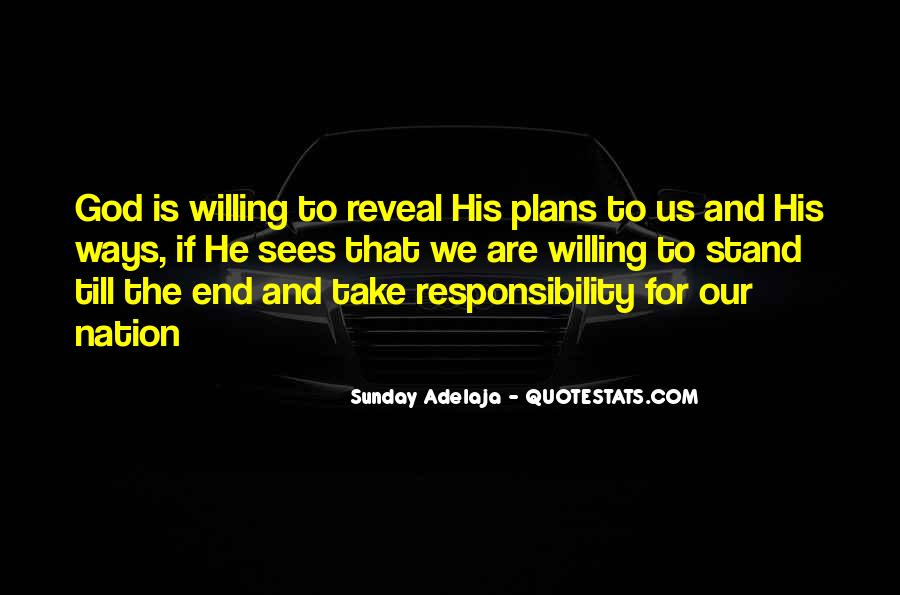 Quotes About Plans And God #101488