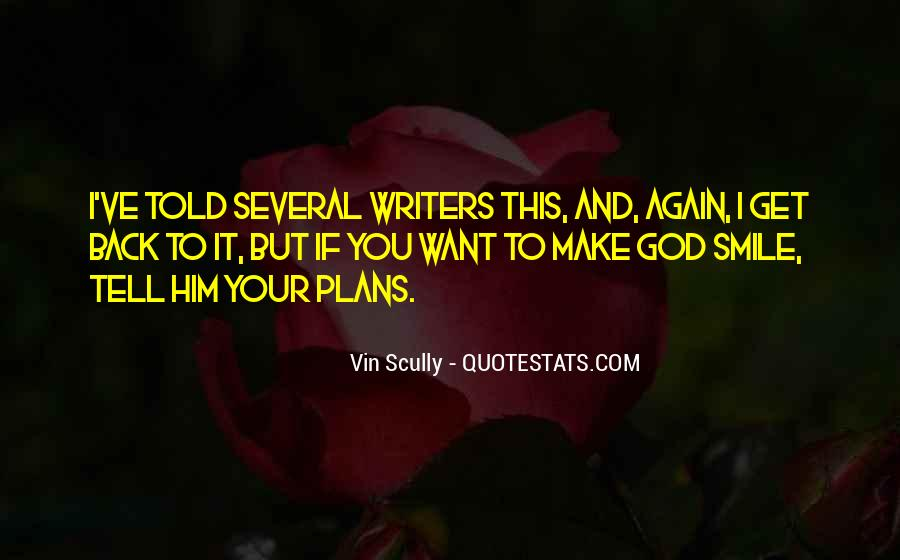 Quotes About Plans And God #1147688