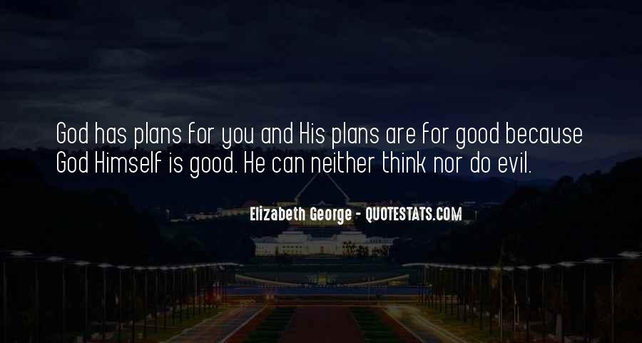 Quotes About Plans And God #1184031