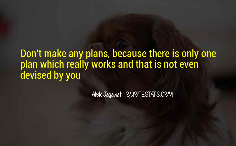 Quotes About Plans And God #1241926