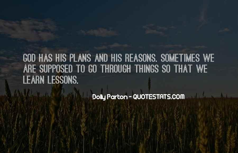 Quotes About Plans And God #156267