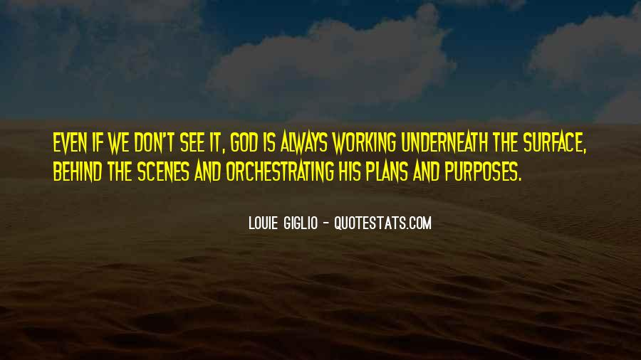 Quotes About Plans And God #317734
