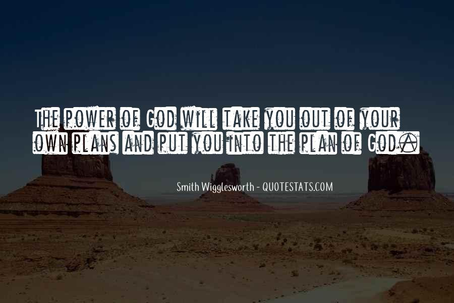Quotes About Plans And God #328303