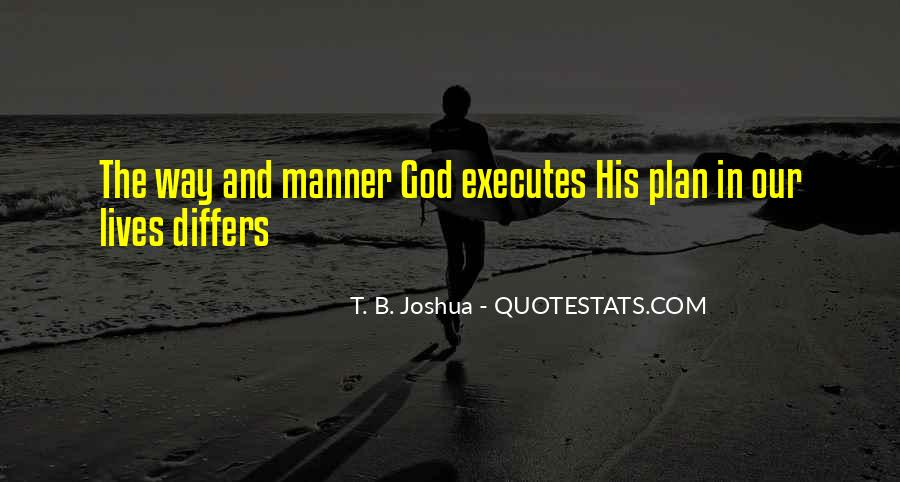 Quotes About Plans And God #362600