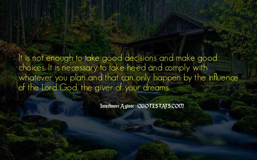 Quotes About Plans And God #369604