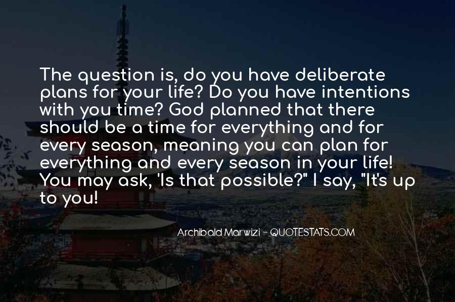 Quotes About Plans And God #39233