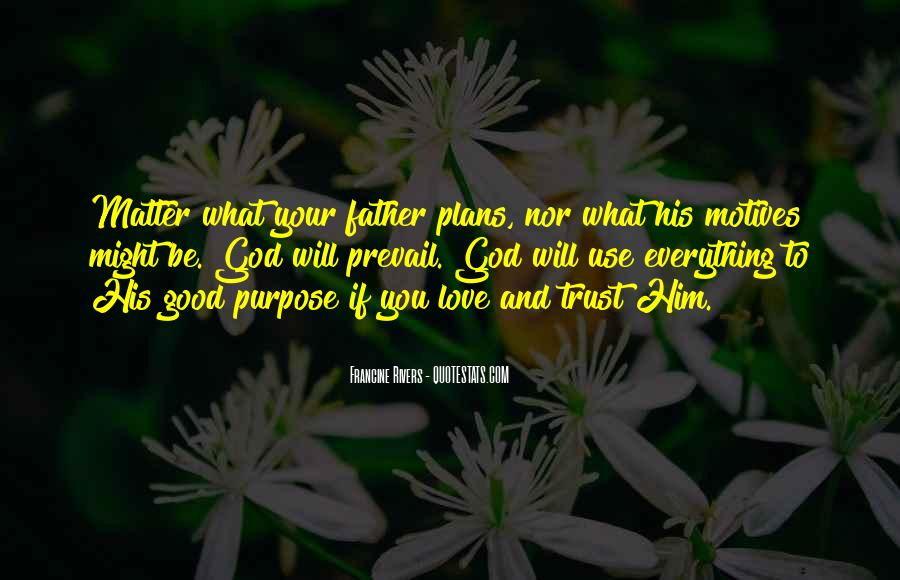 Quotes About Plans And God #394200