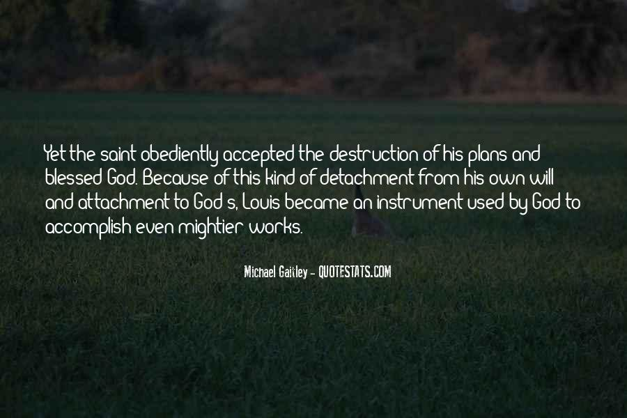Quotes About Plans And God #406117