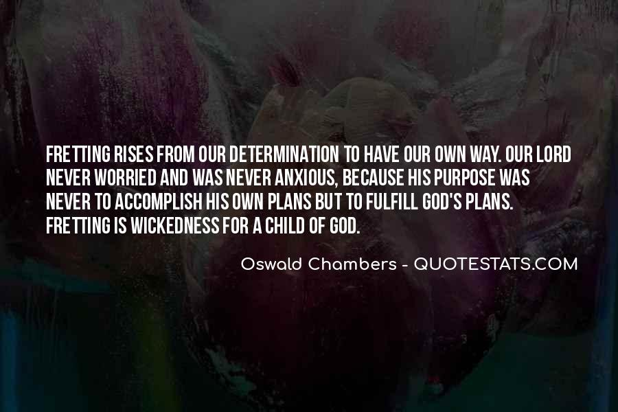 Quotes About Plans And God #417997
