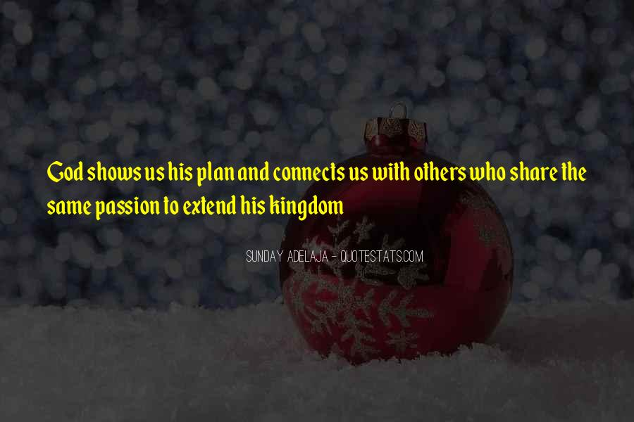 Quotes About Plans And God #443844