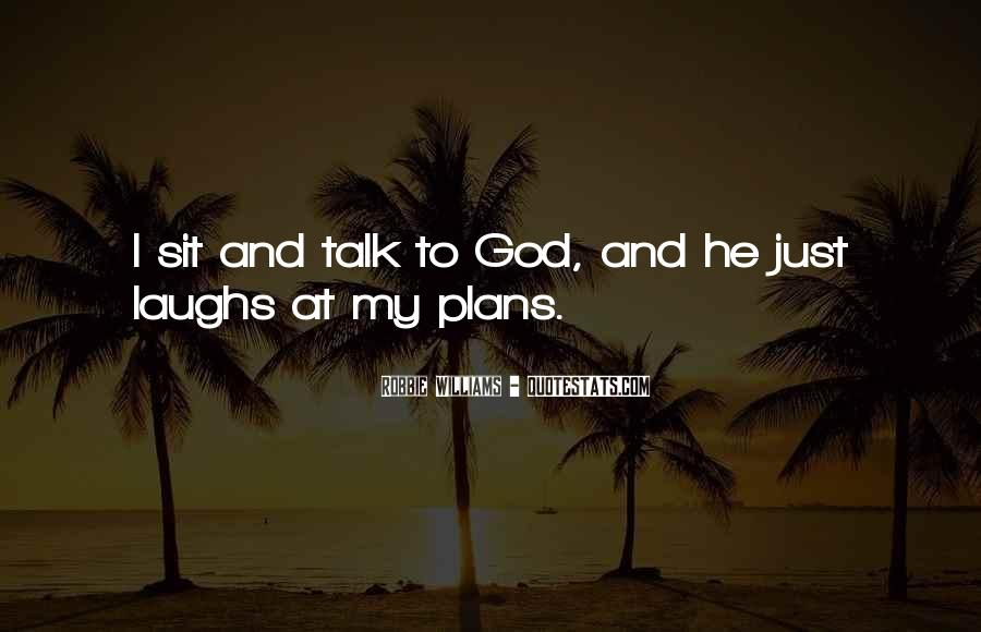 Quotes About Plans And God #670885