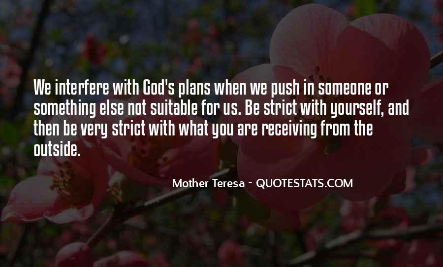 Quotes About Plans And God #847401