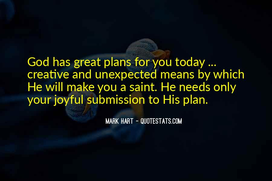 Quotes About Plans And God #908616