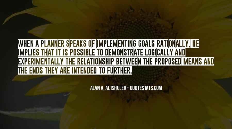 Quotes About Planning And Goals #1186439