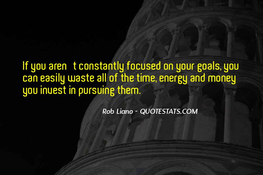 Quotes About Planning And Goals #1397538