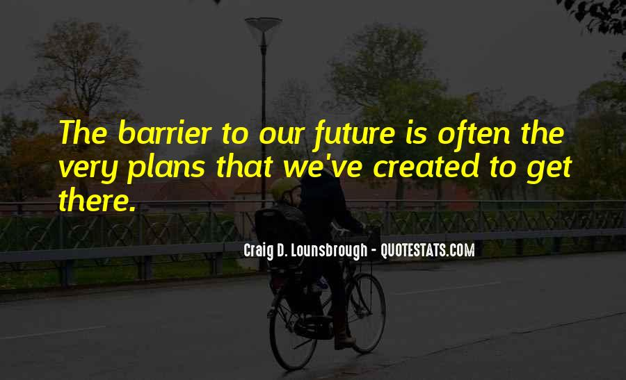 Quotes About Planning And Goals #150096