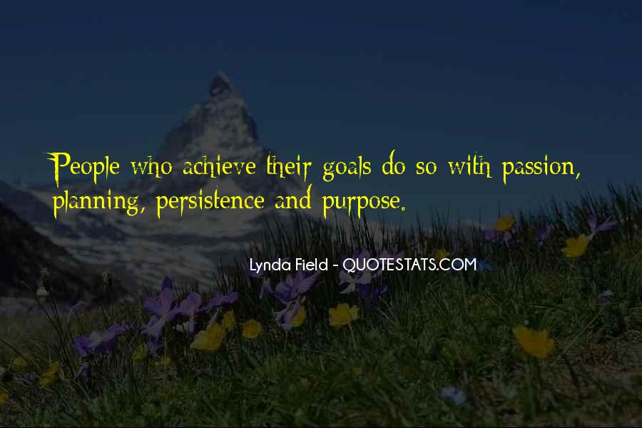 Quotes About Planning And Goals #1680134