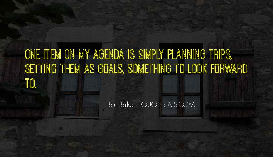 Quotes About Planning And Goals #182512