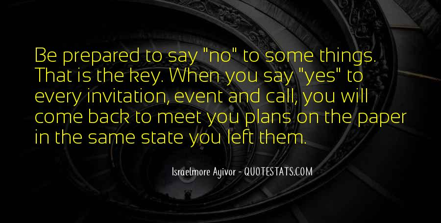 Quotes About Planning And Goals #336022