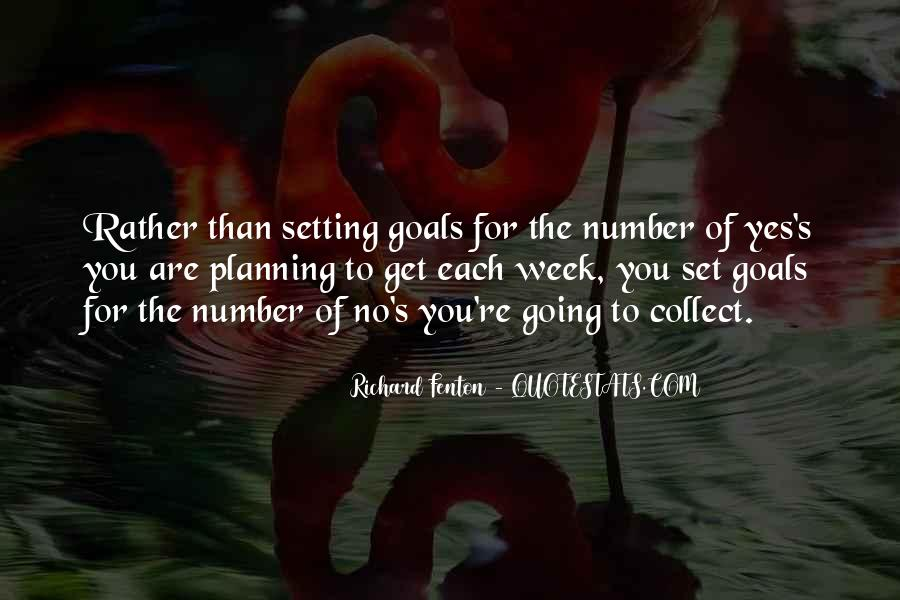 Quotes About Planning And Goals #540999