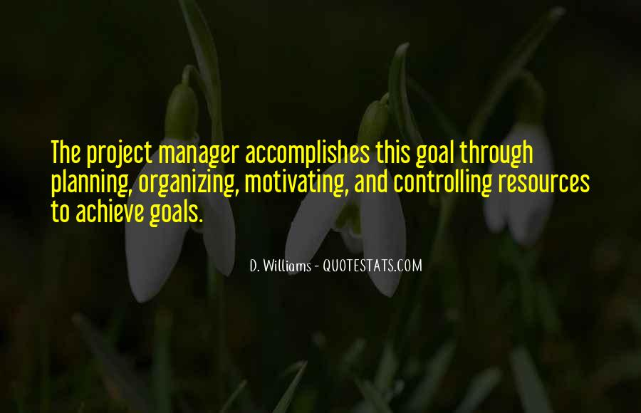 Quotes About Planning And Goals #547882